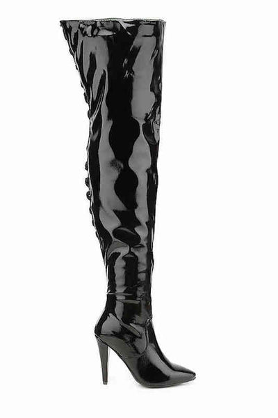 Over The Knee Boot with Heel