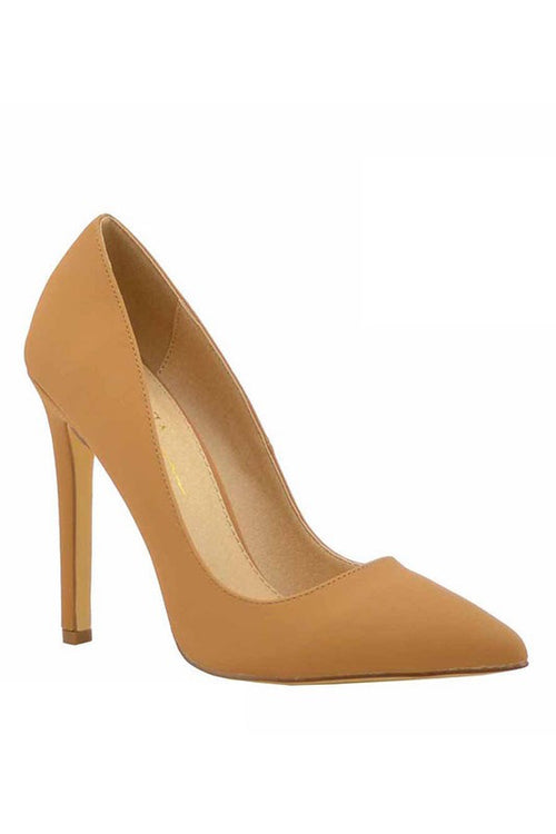 Suede Pointed toe Pump