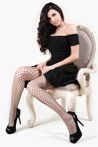 Medium Gauge Fishnet Stockings