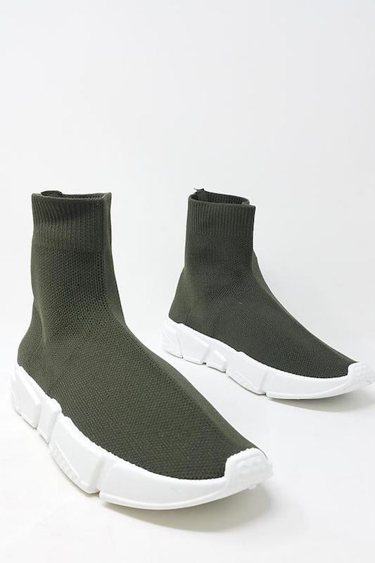 Stretch Knit Sneaker