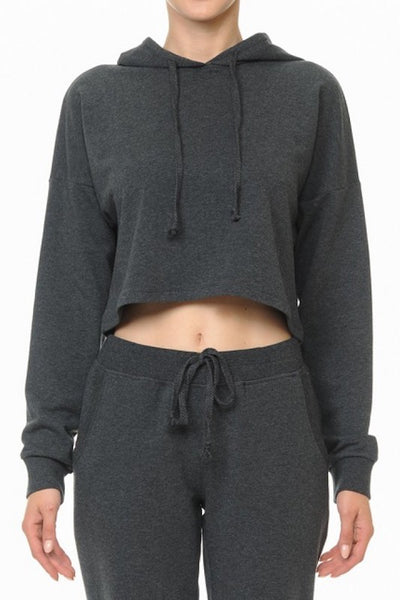 Active French Terry Cropped Hoody