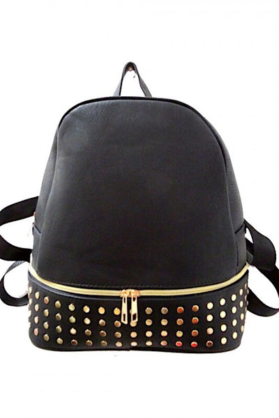 Studded Bottom Backpack