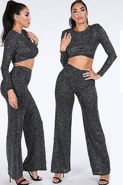 Shimmer Top and Pant Set