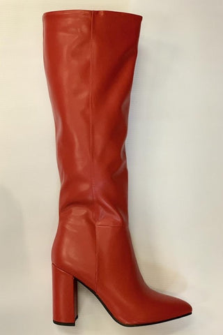 Over The Knee Pointed Toe Boot