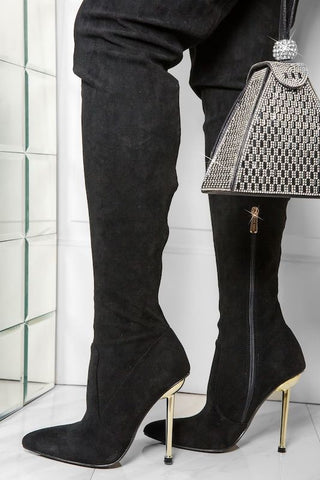 NIA Micro Suede Boot