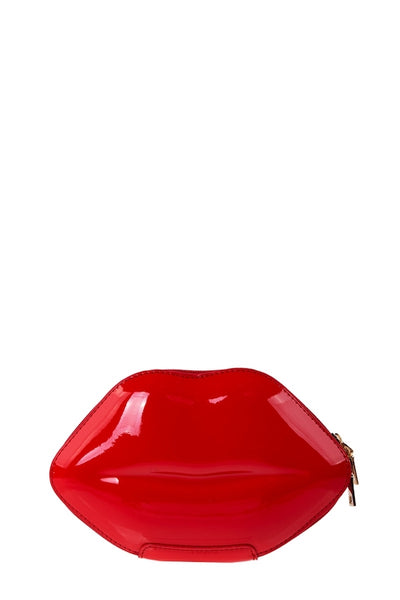 Lip Shaped Crossbody Bag