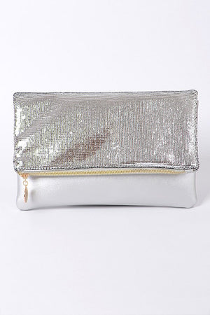 Sequin Folded Clutch