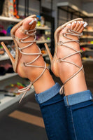 Laced Up & Ready To Go Heel