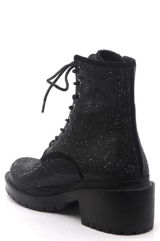 Studded Combat Boot