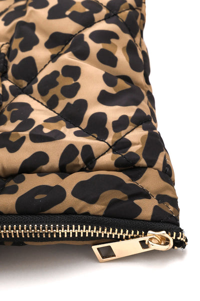 Leopard Quilted Bag