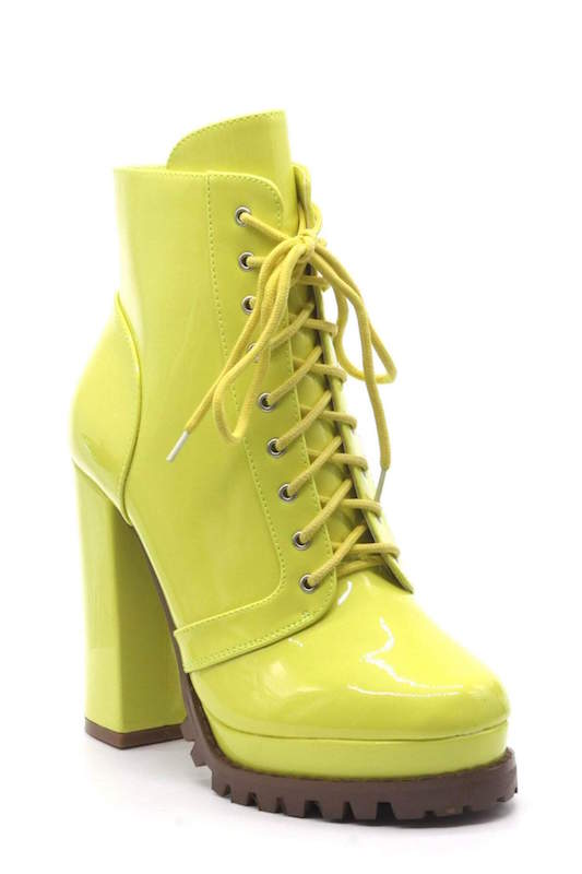 CRUSH Lace Up Bootie