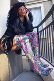 OTK Snake Multicolor Boot with Heel