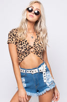 Destroyed High Waisted Raw Hem Short