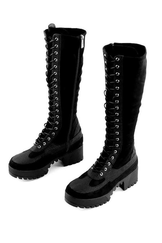Tall Combat Boot
