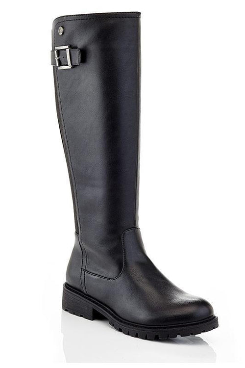 Knee High Stretch Rider Boot