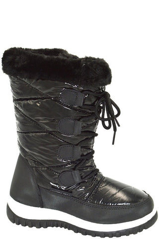 Fur Detail Snow Boot