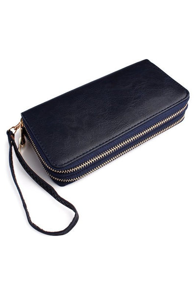 Dual Zipper Wallet