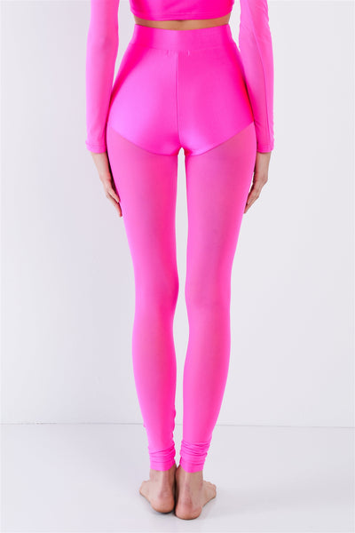 Long Sleeve Mock Neck Top & Ankle Legging Set