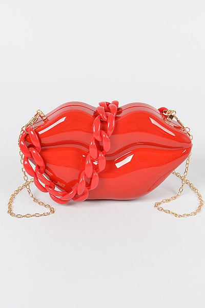 Exotic Lip Clutch