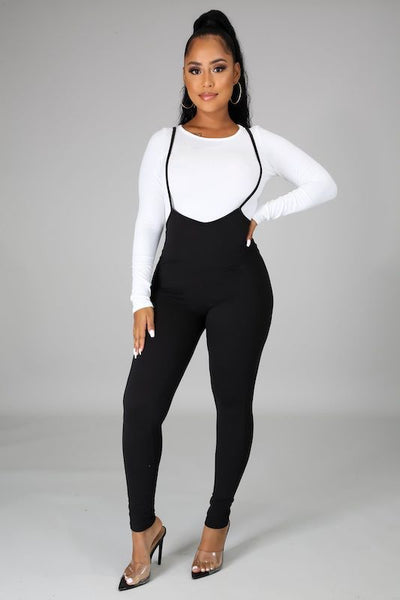 Long Sleeve Top & Jumpsuit Set