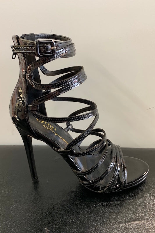 Adjustable Strappy Heel