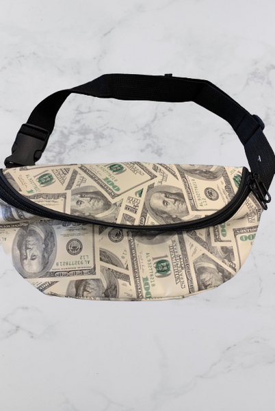 Money Print Fanny Pack