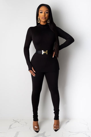 Long Sleeve Top & Leggings Set