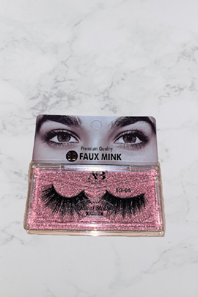 8D Faux Mink False Eyelashes #05