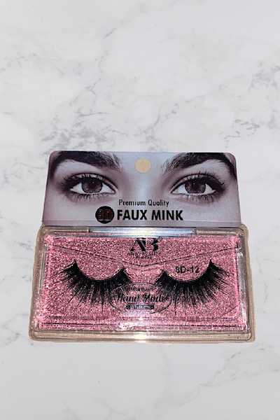 8D Faux Mink False Eyelashes #12