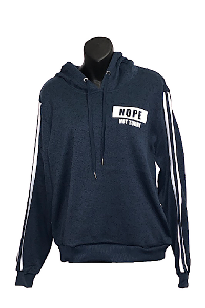 """NOPE NOT TODAY"" Navy Hoodie"