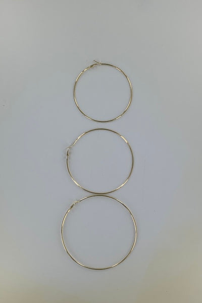Large Hoop Earring Pack