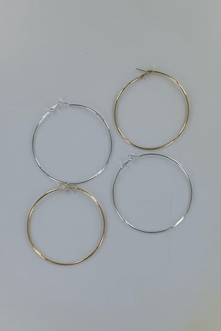 Large Hoop Earring 5 Pack