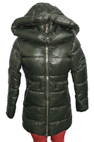Polyester Jacket with Lined Hoody