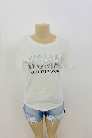 Who Run The World? T-Shirt