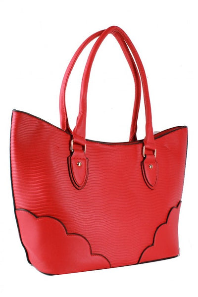 Large Wavy Tote Bag
