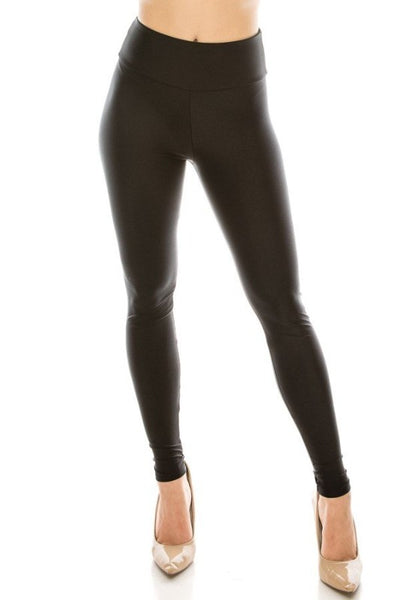 High Waisted Wide Band Leggings