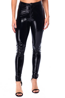 Latex Zip Up Pants