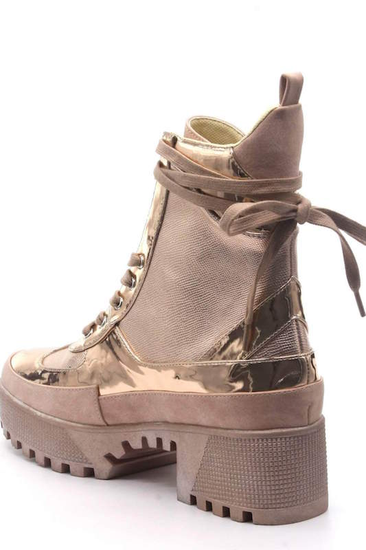 Chunky Sole Boot