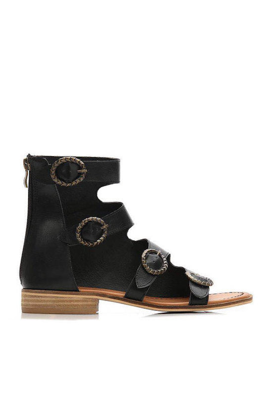 Triple Buckle Sandal