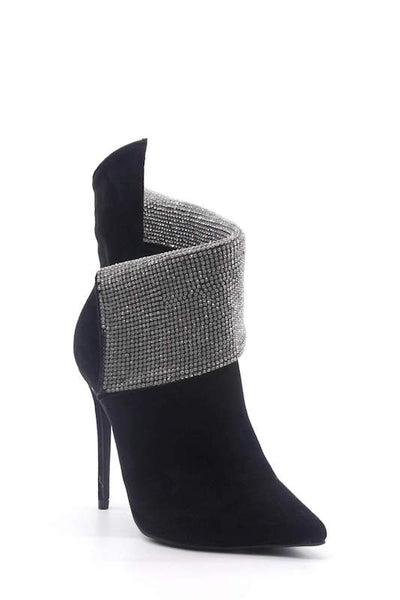 Studded Pointy Heel