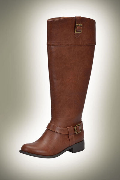 Side Buckle Riding Boot