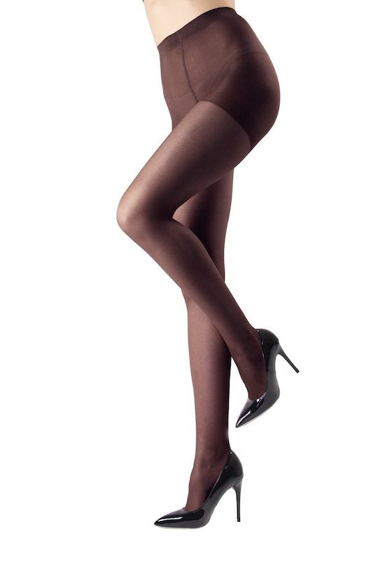 Crystal Sheer Control Top Pantyhose- PLUS SIZE