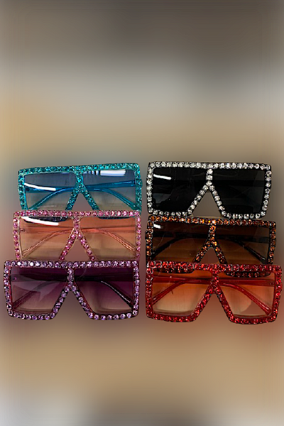 Stone Studded Sunglasses