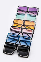 Crystal Accent Sunglasses