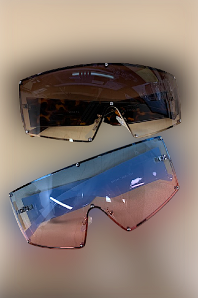 Fashion Sleek Frame Sunglasses