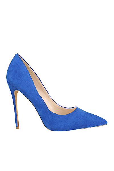 Pointed Toe Suede Pump