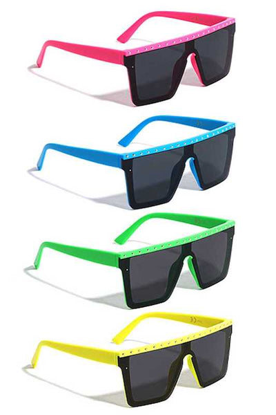 Colorful Studded Sunglasses