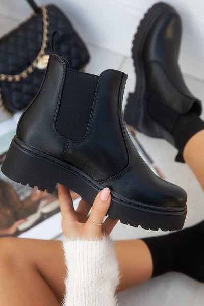Short Thick Sole Boot