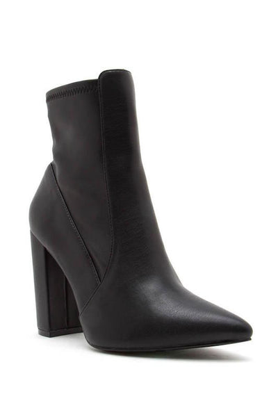 Pointed Toe Bootie