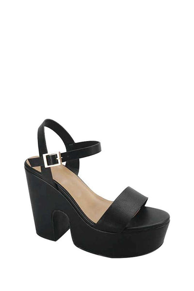 Thick Band Thick Platform Sandal